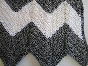 Chevron Crochet Pattern Easy Crochet Blanket By Kathiesewhappy