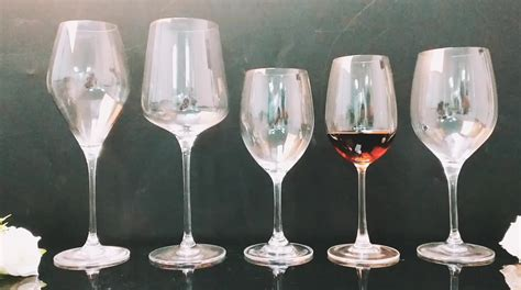 Wholesale Large Red Wine Glasses Crystal Stemware Glasses