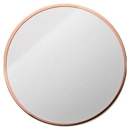 jennington  copper frame mirror interiors copper