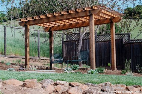carpentry arbors and fences for landscaping growing