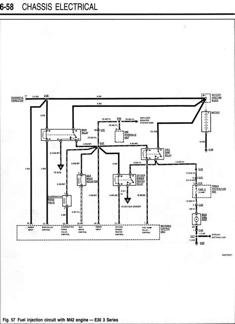 m42 starter fuel injection wiring diagrams