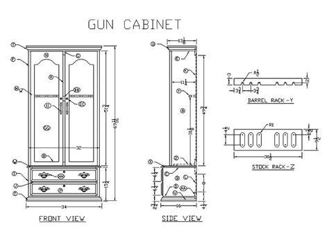 pdf woodwork wooden gun cabinets plans diy plans