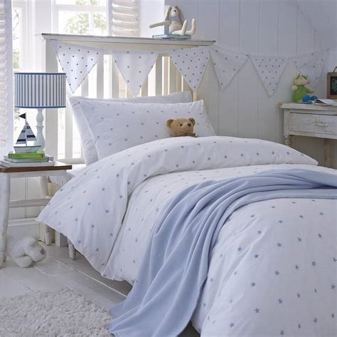 Blue Stars Cotton Bedding By The Fine Cotton Company
