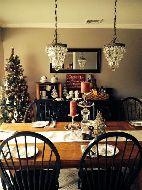 holiday dining room pottery barn chandeliers holiday