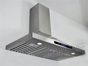 36 U0026quot  Wall Mount Stainless Steel Kitchen Range Hood Vent