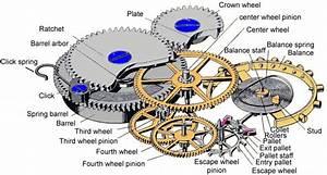Pocket Watch Movement Diagram
