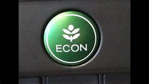 How The Econ Button Works On A New Honda  How It Really