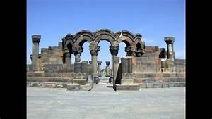 Zvartnots Cathedral, Ejmiatsin, Armavir Province, Armenia ...  Zvartnots
