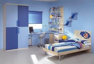 Blue Bedroom For Boys