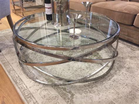 couchtisch rund glas couchtisch rund glasplatte transparent couchtisch verchromt metall und glas tisch glas rund