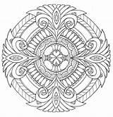 Coloring Mandala Pages Adult Mandalas Printable Colouring Royalty Books Adults Pdf Sheets Para Pure Colorear Favecrafts Blank Circulares Easy Patterns sketch template