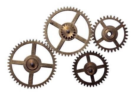 Clockworks Clipart Steampunk Gear