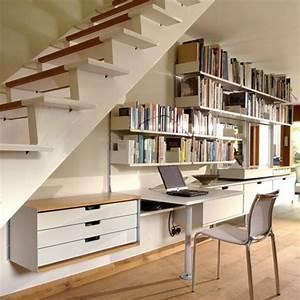 Bureau Sous Escalier : bureau sous un escalier ~ Farleysfitness.com Idées de Décoration