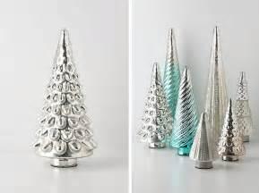silver christmas tree decor decoist