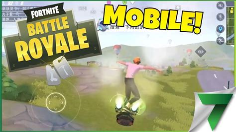 fortnite mobile beta gameplay   cool fornite