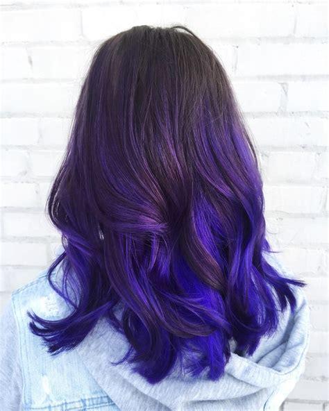 purple hair color styles ombre hair color에 관한 상위 25개 이상의 아이디어 옴브레 머리 9168