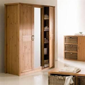 Armoire 3 Suisses : armoire penderie 3 portes miroir helsinki armoire 3 suisses ~ Teatrodelosmanantiales.com Idées de Décoration