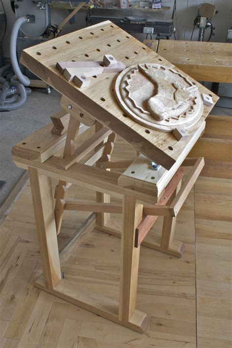 wood wood carving bench plans blueprints  diy