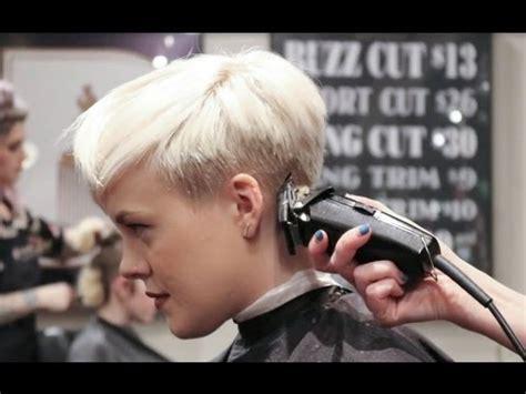 undercut pixie     haircut youtube