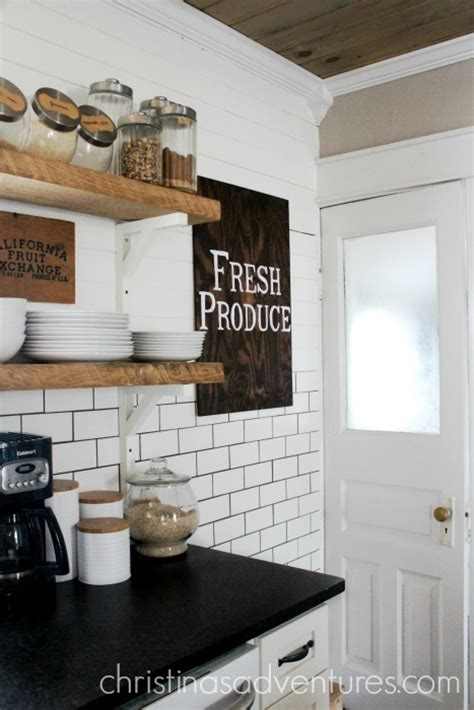 Farmhouse Kitchen Countertops - leathered granite counter tops christinas adventures