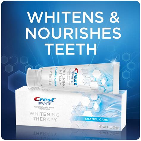Amazon.com: Crest 3D White Whitening Therapy Enamel Care
