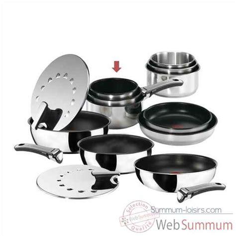 batterie de cuisine tefal ingenio tefal lot de 3 casseroles poignée ingénio inox gourmet