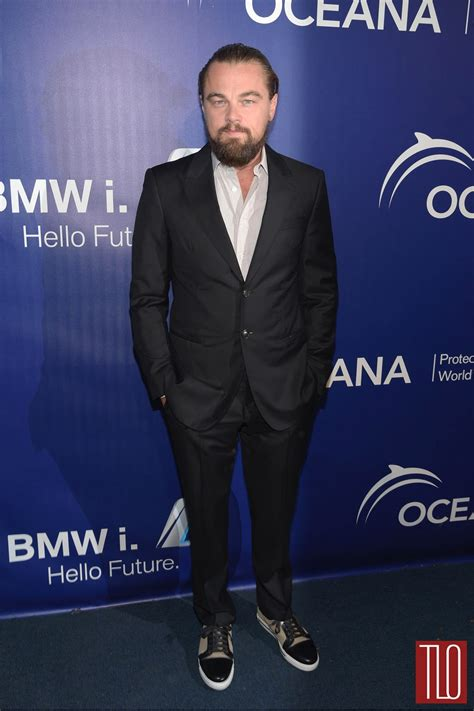 Leonardo Dicaprio At The Oceanas 2014 Seachange Summer
