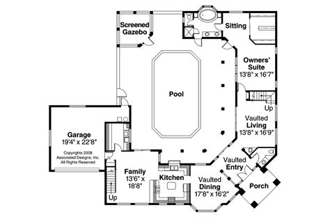Southern Living Small Living Rooms by Southwest House Plans Savannah 11 035 Associated Designs