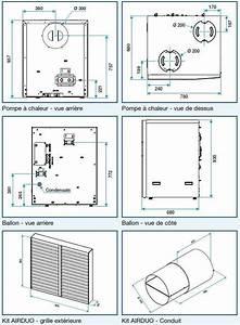 Dimension Chauffe Eau Thermodynamique : ballon thermodynamique aldes ~ Edinachiropracticcenter.com Idées de Décoration