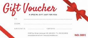 6 free gift voucher templates excel pdf formats With make your own gift certificate template free