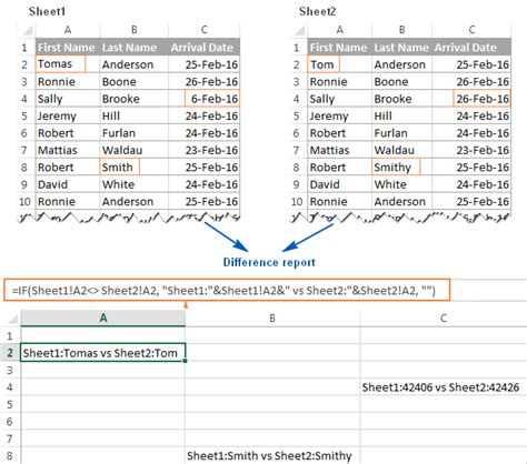 how to compare two excel sheets in 2010 how to compare two excel files or sheets for differences