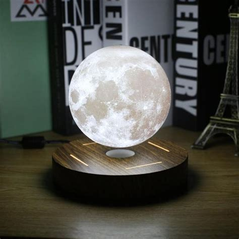 bring outer space   bedroom   levitating moon lamp