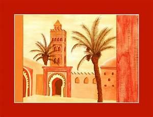 Tableau Porte Orientale : tableau reproduction villes orientales d coration ~ Teatrodelosmanantiales.com Idées de Décoration