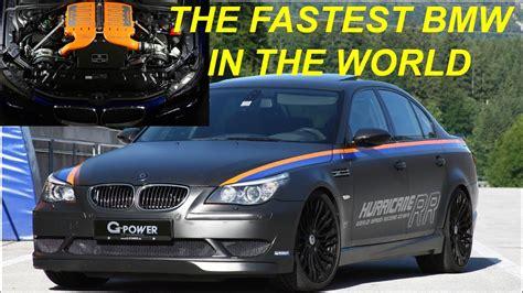 fastest bmw sedan   world bmw  hurricane rr