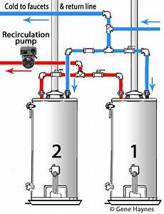 Piping Diagram For Two Water Heaters