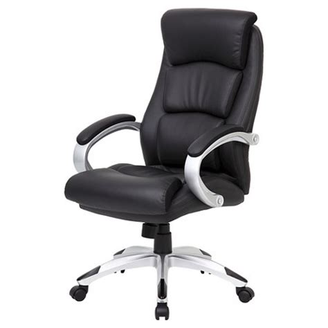 Office Chairs In Target by Leatherplus Executive Chair Black Office Products