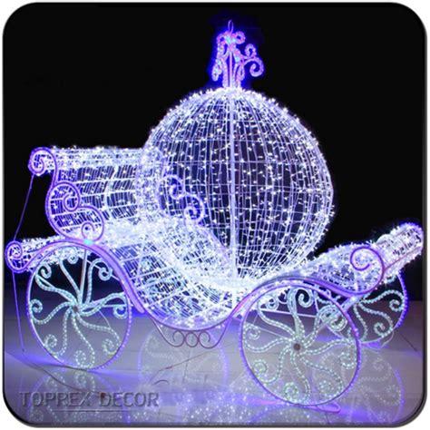 wedding decoration cinderella pumpkin carriage  outdoor
