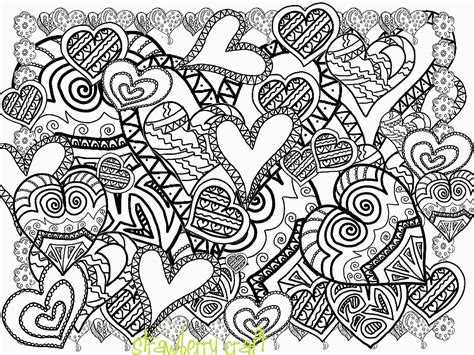 Coloring Pages For Adults Abstract Flowers