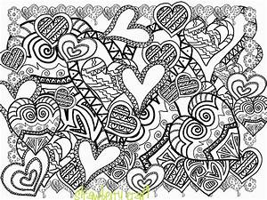 Coloring Pages For Adults Abstract Flowers - Coloring Home