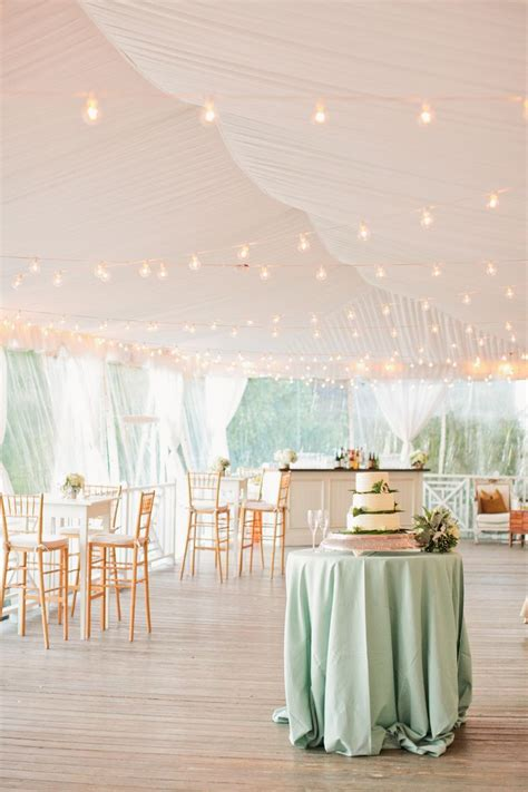 cocktail style wedding reception ideas