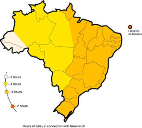 brazil time zone what time is it in rio and other cities