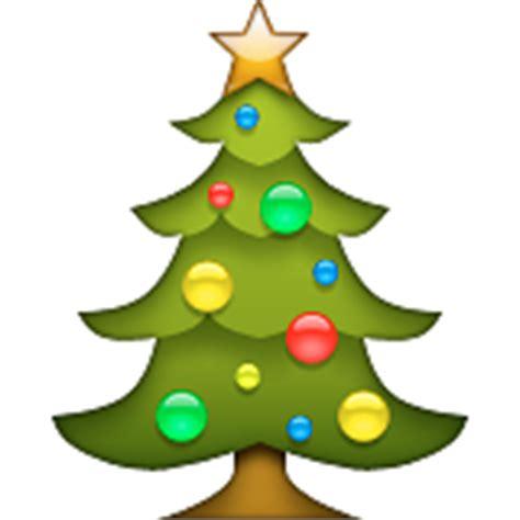Emoji Pop Santa Face, Hat, Christmas Tree With Ornaments