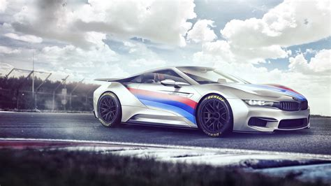 Bmw I8 Concept Electro Wallpaper