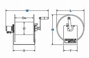 Coxreels 100w Series Welding Reel