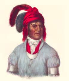 What are the facial features of a creek Indian