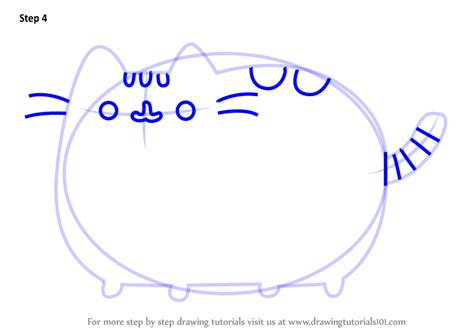 learn   draw pusheen  cat memes step  step