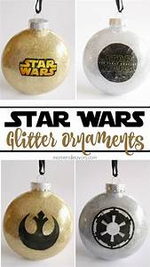 Star Wars Diy : diy glitter star wars ornaments ~ Orissabook.com Haus und Dekorationen