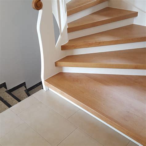 treppenstufen renovieren laminat treppenrenovierung treppensanierung h 252 bscher