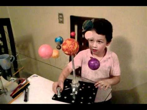 maqueta sistema solar youtube