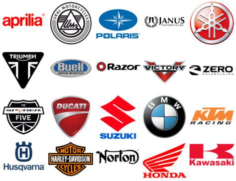 Motorcycle Brands And Logos, Motorbike Logos